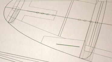 Kiteboard Planung per Aku Shaper und CAD
