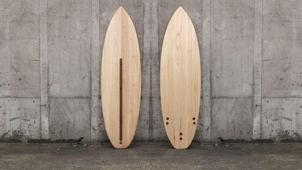 Wooden Kite-Surfboard Paulownia