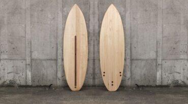 Kite-Surfboard aus Paulownia-Holz