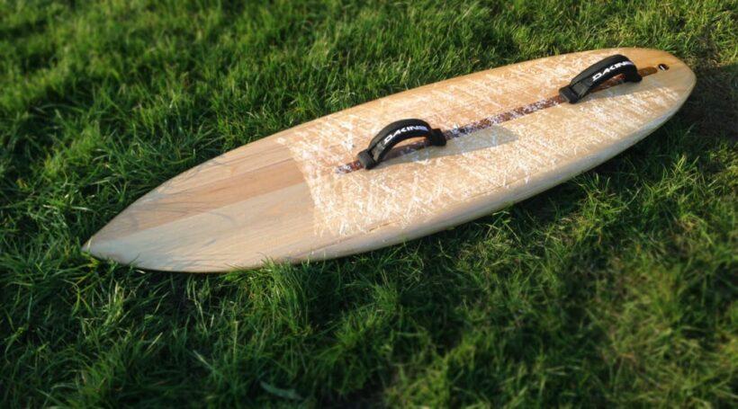 Kite-Surfboard - erster Test in Brasilien bei Kiel