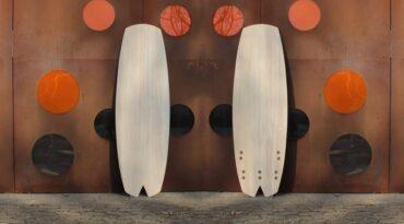 Kite-Surfboard für kleine Wellen und Freestyle