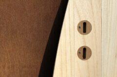Finnen-Plugs aus Mahagoni-Holz