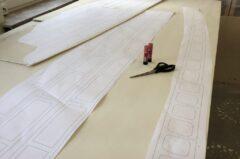 Vorbereitung CAD-Plan der Hollow-Wood-Konstruktion