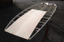 Paulownia-Einlage für Channel der Hollow-Wood-Konstruktion des SUP