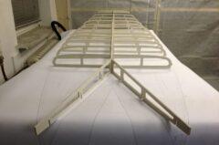 Hollow-Wood-Rahmen für Wave-SUP