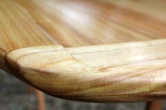 Detail der SUP-Nose aus Paulownia