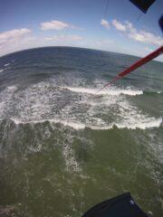 Kitesurfboard-Test in Heidkate / Kiel