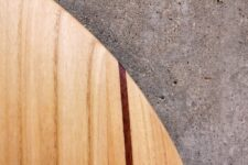 Mahagoni-Stringer im Paulownia-Holzblank