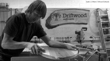 Driftwood Surfboards – Surfbretter aus recyeltem Holz