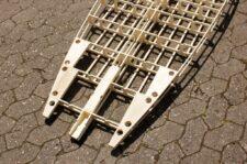 Diamond-Tail mit Holzverstärkungen für Finnenkästen