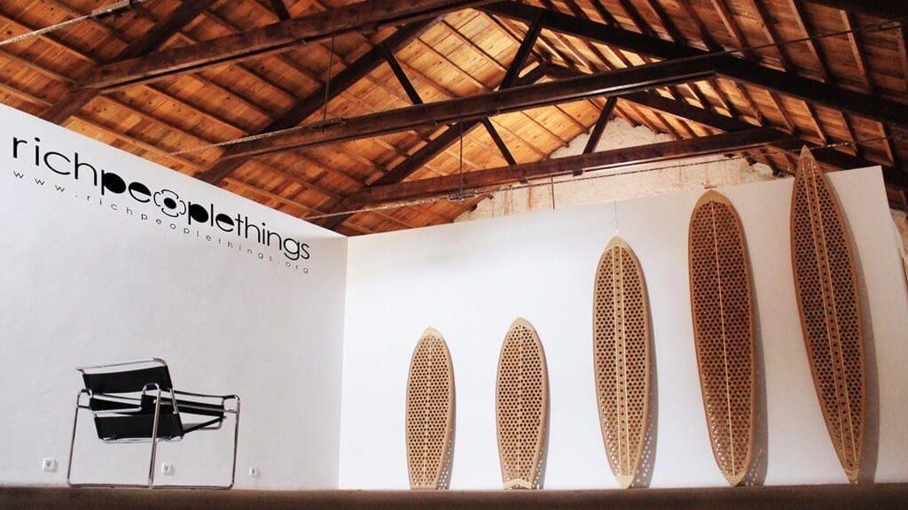 richpeoplethings Surfboards aus Kork