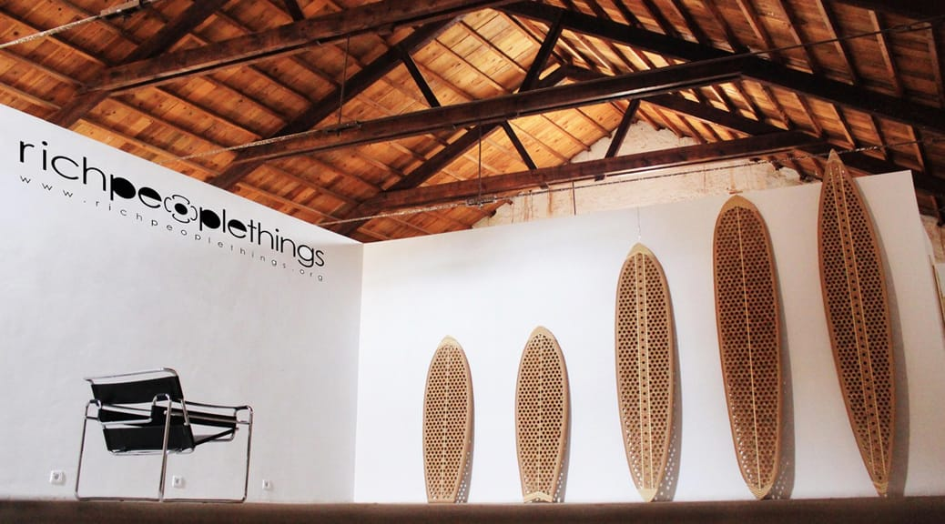 richpeoplethings Surfboards aus Kork