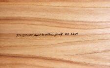 Signature auf Alaia-Unterwasserschiff