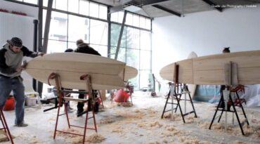 ARBO Surfboard Workshop – How to make your own Wooden Surfboard