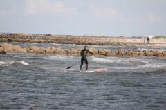 Wellenreiten mit dem SUP