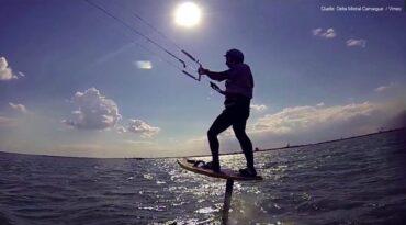Hydrofoil-Kitesurfing-Videos – Fahrtechnik, Speed, Leichtwind