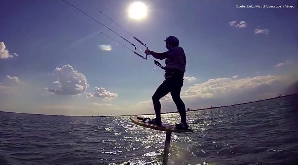 Kitefoil-Speed-2014 Screenshot Vimeo