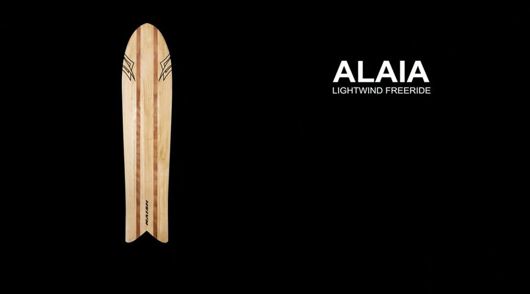 Naish Alaia 2015 - Wooden Surfboard