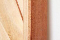 Konstruktiver Holzschutz: Rail aus Kork und Mahagoni