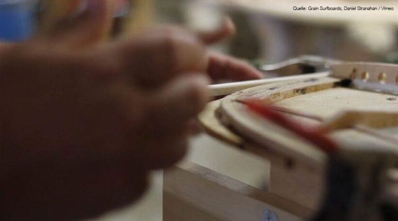 Grain Surfboards - Steaming Rails Video