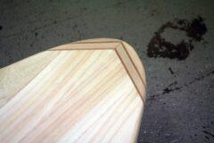 Nose-Block aus Mammutbaum- und Mahagoni-Holz