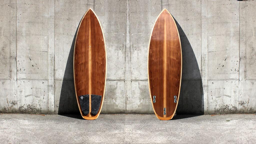 Wooden Waveboard 5,6'
