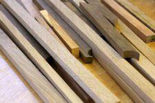 Leisten aus Holzresten