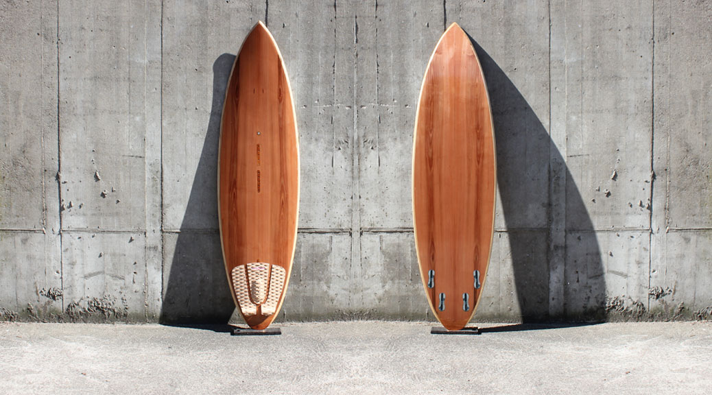Wooden Kitesurfboard 5,10