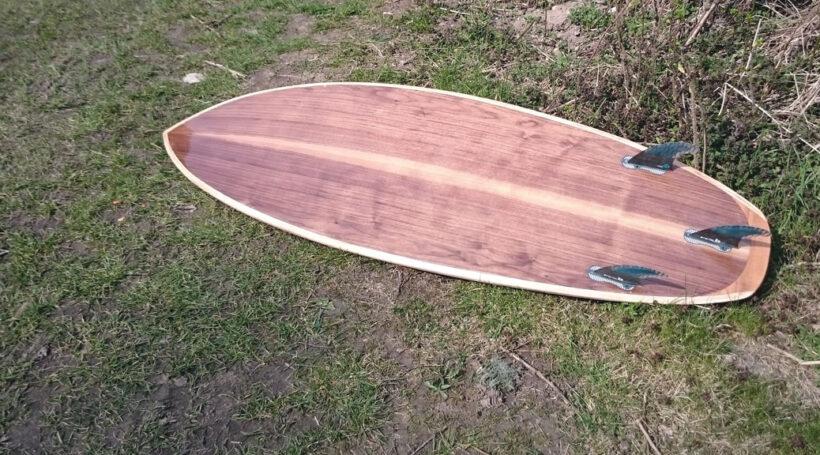 5,8' Kite-Surfboard für kleine Wellen