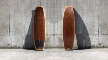 Vanguard-Surfboard 5,6′ fertig (nach diversen Rückschlägen)