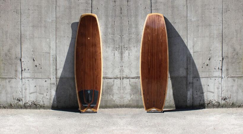 Kite-Surfboard im modernen Vanguard-Shape