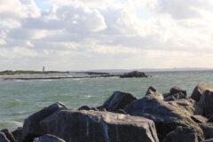 Blick zum Marineehrenmal in Laboe