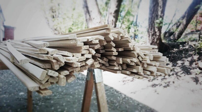 Bead & Cove Holzleisten für SUP-Rails