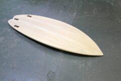 Klassischer Surfboard-Shape für Ostsee-Bedingungen