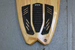 schwarzes FCS-Tailpad