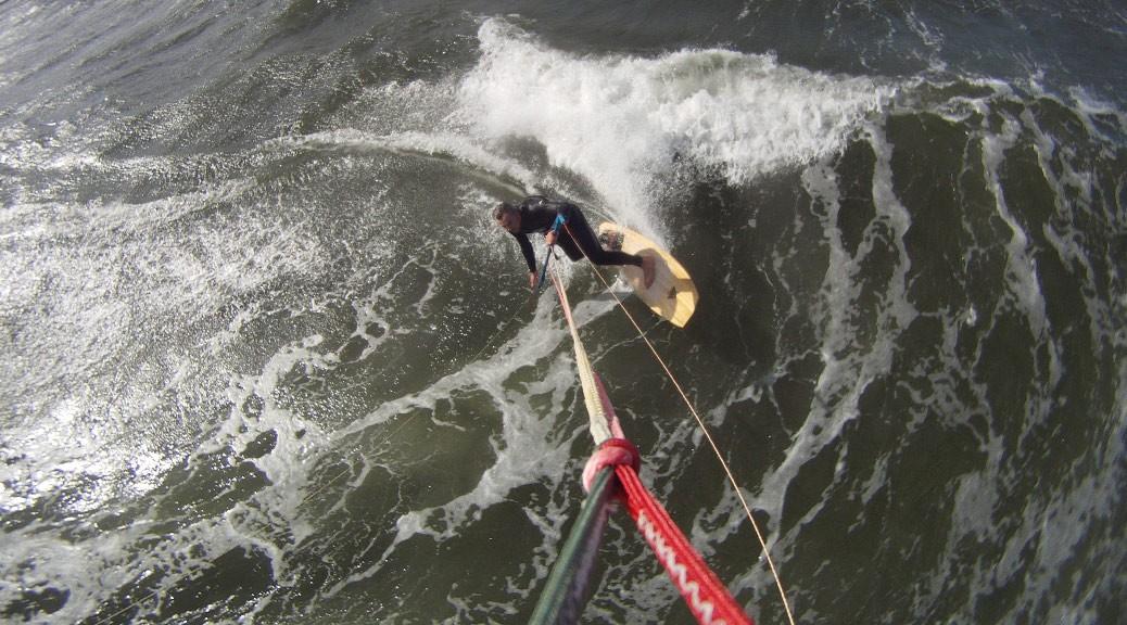 Kitesurfen am Kieler Ostufer