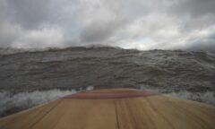 Manchmal waren die Wellen auch größer...