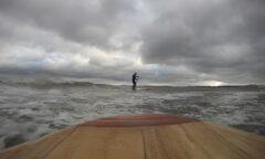 Viel Platz auf dem Wasser