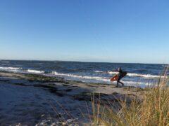 Höhelaufen am Strand