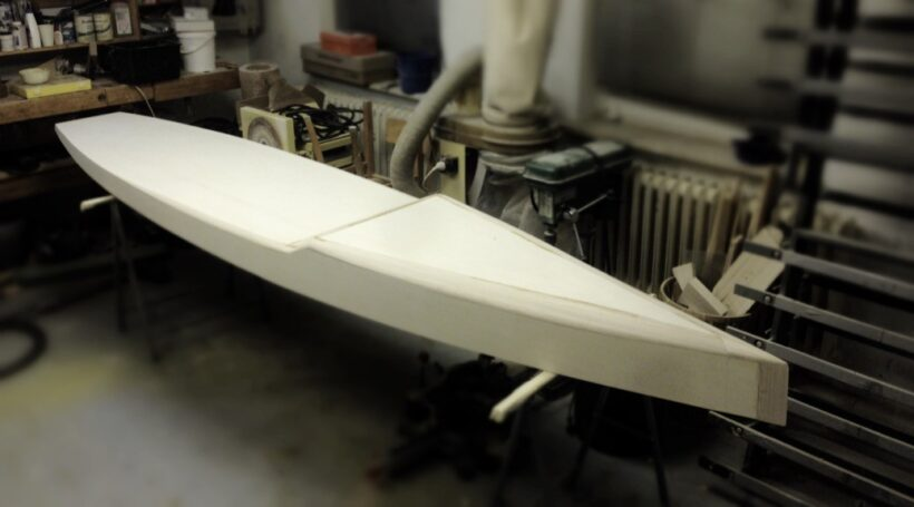 Wooden Touring SUP