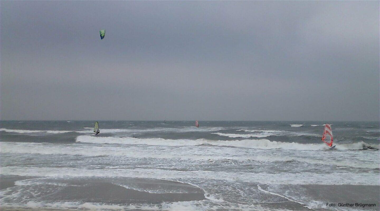 Kitesurfing in Brasilien bei Kiel