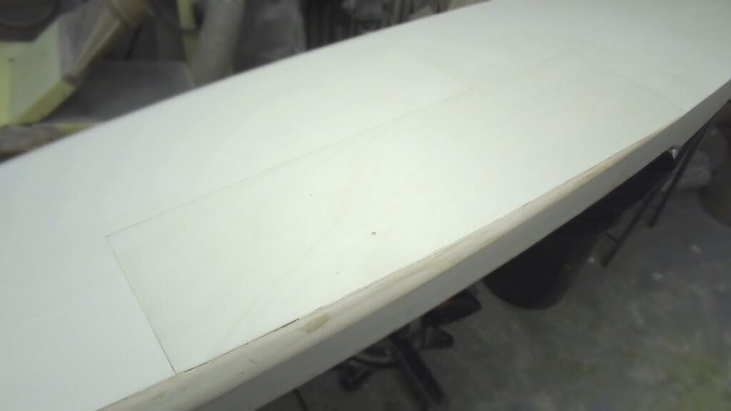 Hollow-Wood-SUP repariert