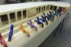 Rekonstruktion des Holz-Rails
