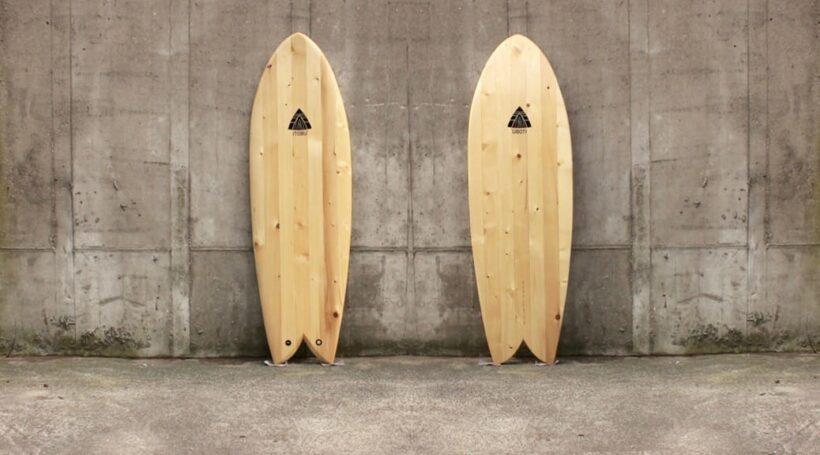 Chambered Fish Surfboard