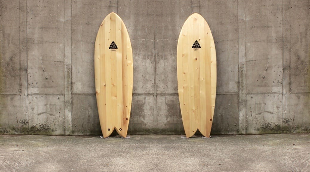 Chambered Fish Surfboard