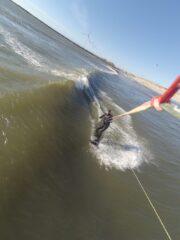 Wellen in Hvide Sande