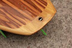 Leash-Plug aus Holz
