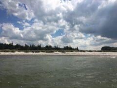 Strand in Heidkate bei Kiel