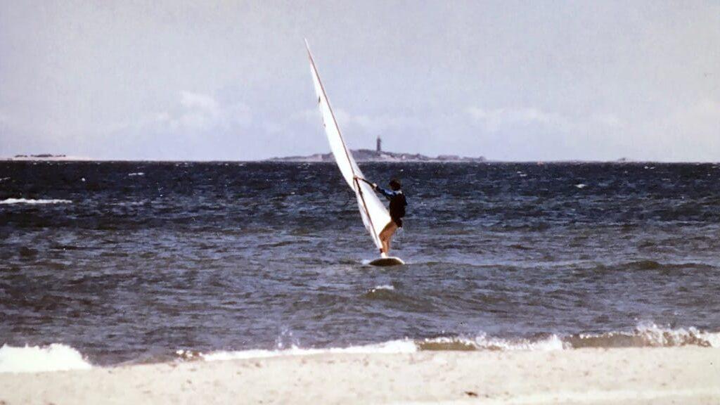 Windsurfing mit Windglider