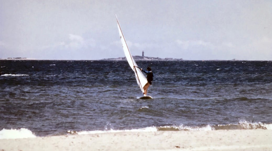 Windsurfing mit Windglider